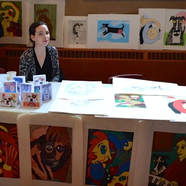 Kazoo! Fest Print Expo.