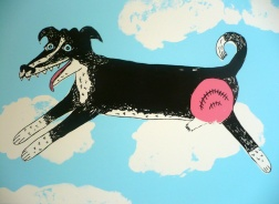 """Flying Dog"" silkscreen"